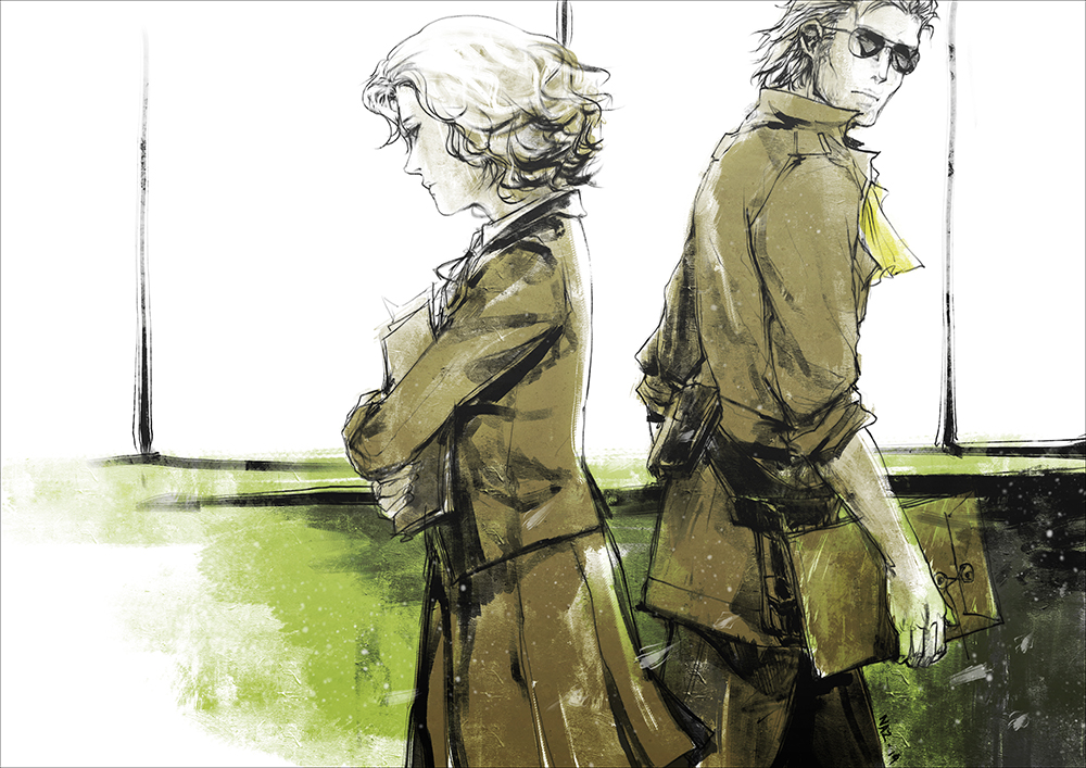 MGS Peace Walker : Paz and Kaz II by Nazgullow