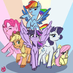 Oh dang its ponies