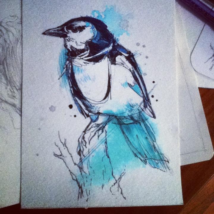 Johanna's Magpie by FinchFight