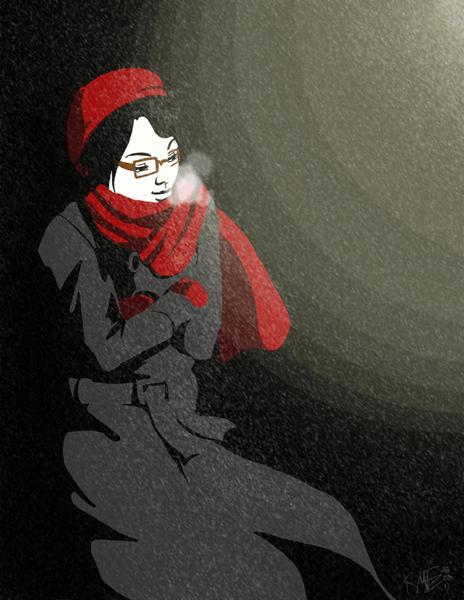 Waiting by CarmenTakoshi