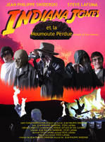 Poster of Indiana Jones et la moumoute perdue by Neost