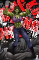 She Hulk by Akecheta