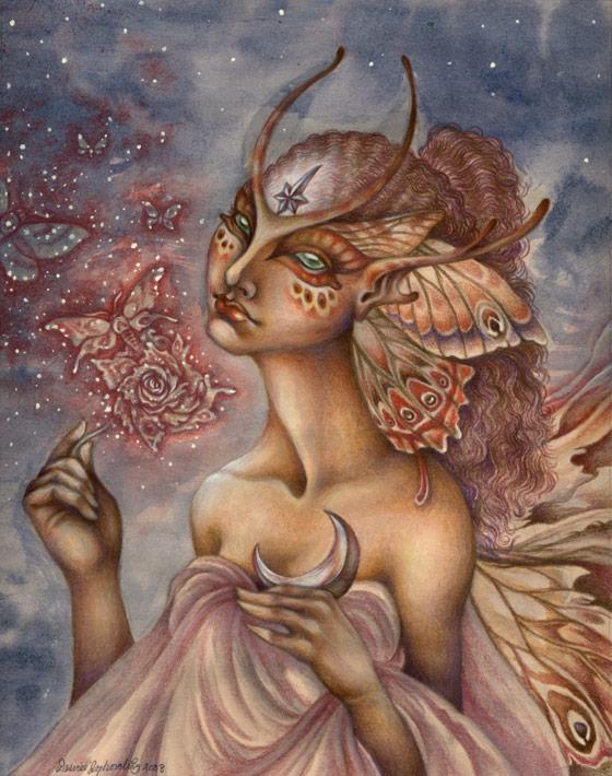 The Moth Rose