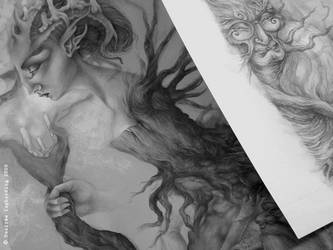 Two Works in Progress by sphinxmuse
