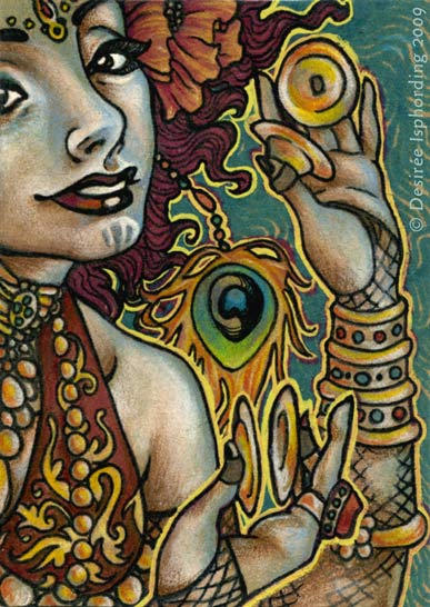 Tribal Fusionista - ACEO
