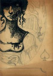 Queen of Spades - version 1