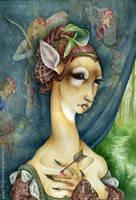 DeerWoman by sphinxmuse