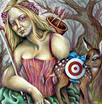Melora and the Fawn