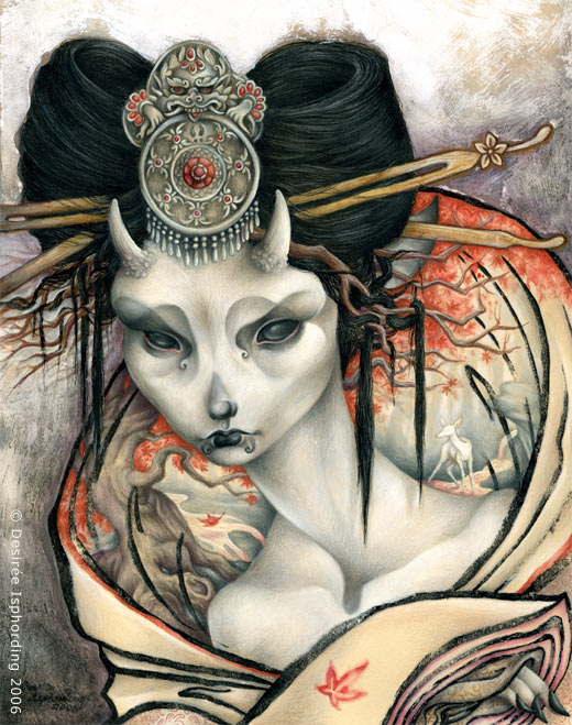 The White Doe of Nara by sphinxmuse