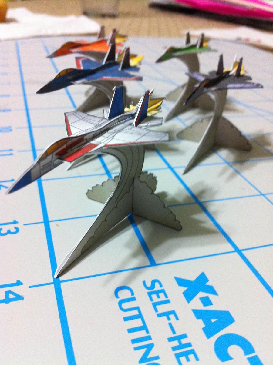 Seeker Paper Miniatures - 2 by wulongti