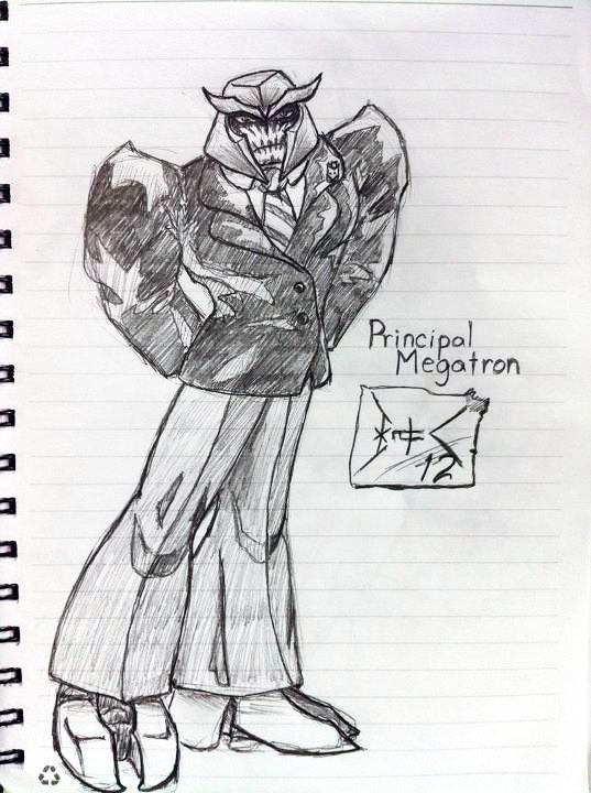 Principal Megatron by wulongti