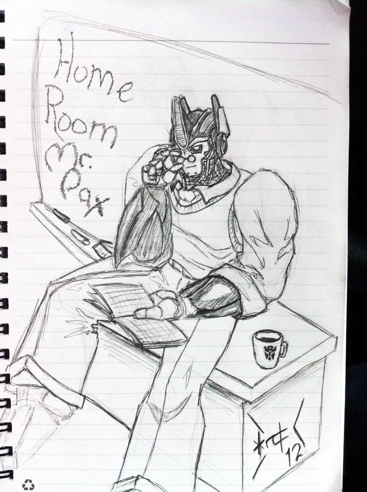 Home room teacher: Mr. Pax by wulongti