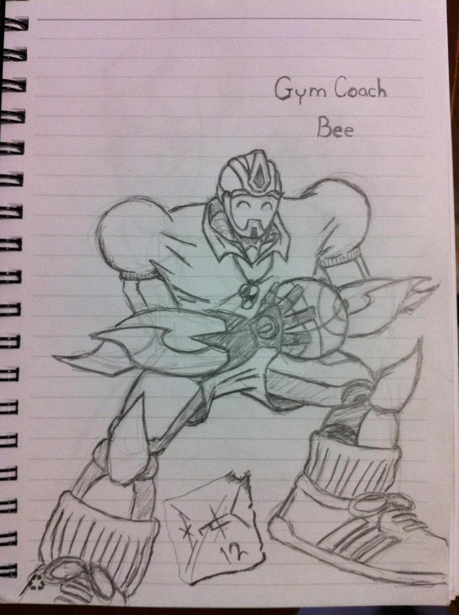 Gym Coach Bee by wulongti