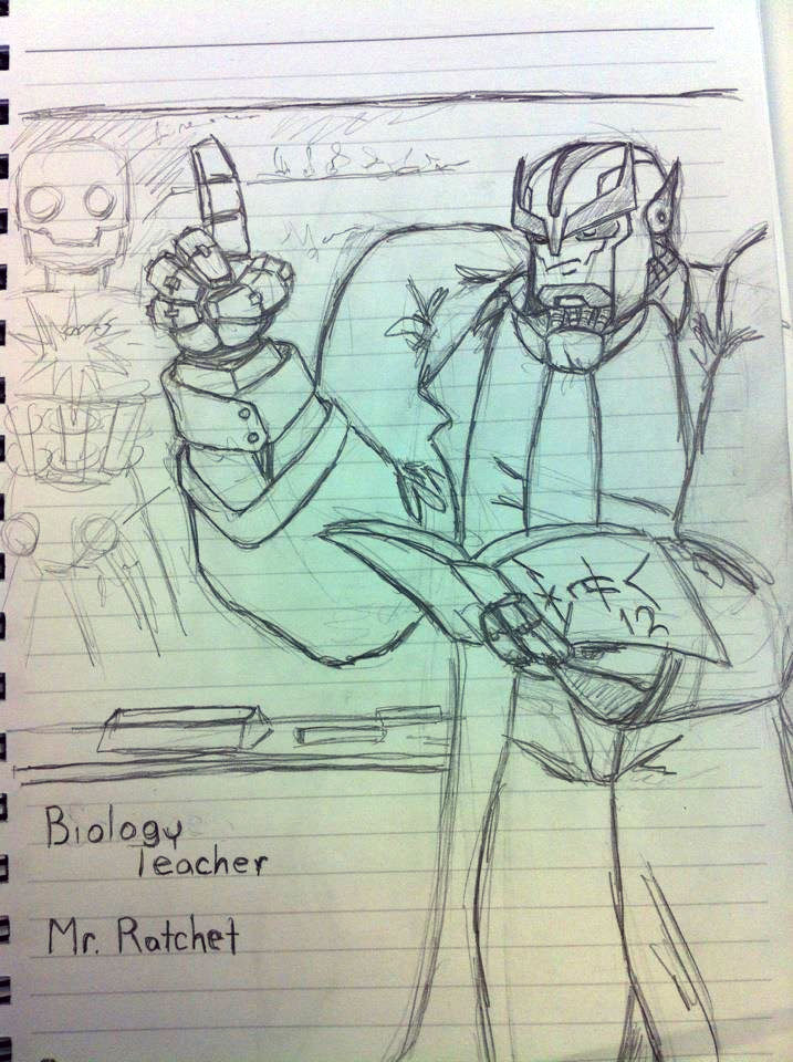 Biology Teacher Ratchet by wulongti