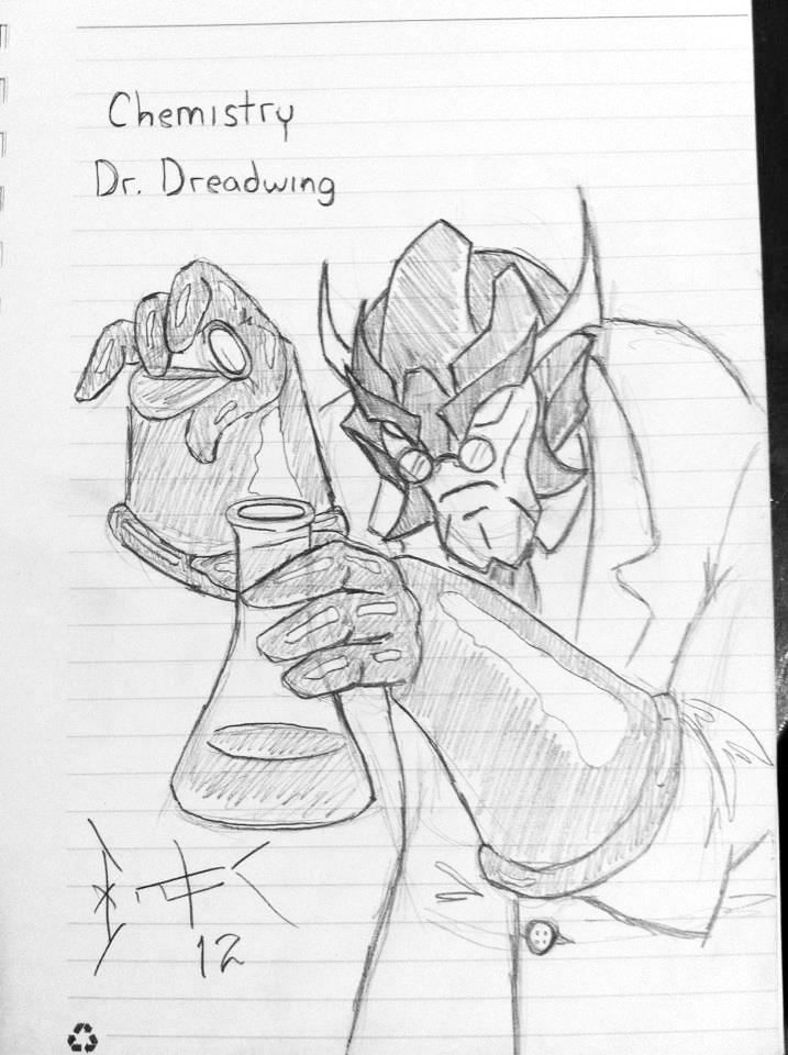 Chem Lab Dreadwing by wulongti