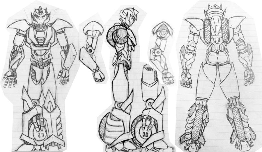 Transformers OC Booster: Design Sheet by wulongti