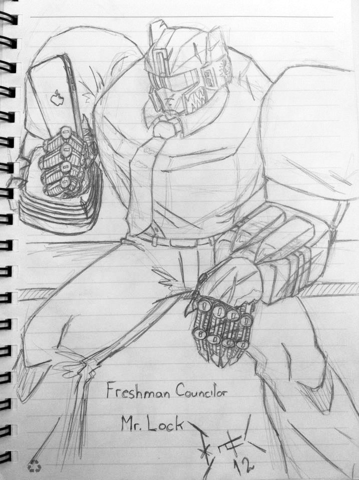 Guidance Counselor Grimlock by wulongti