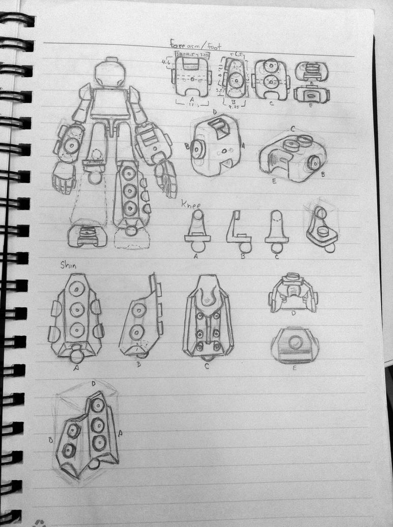 Kreon Upgrade - Design Sketch by wulongti