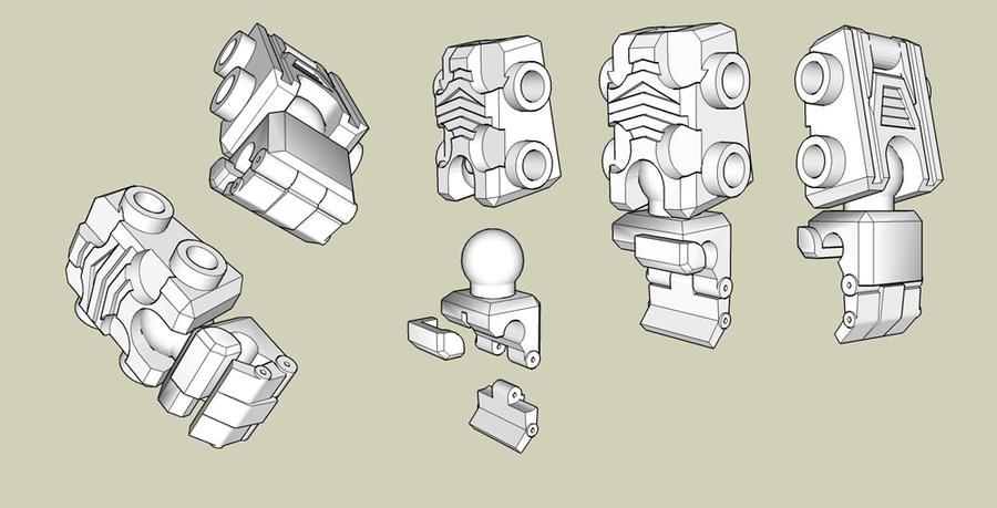 Kreon Upgrade - hands 3D Model by wulongti
