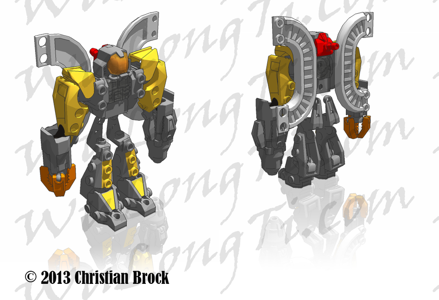 Colored Omega Supreme upgrade render by wulongti