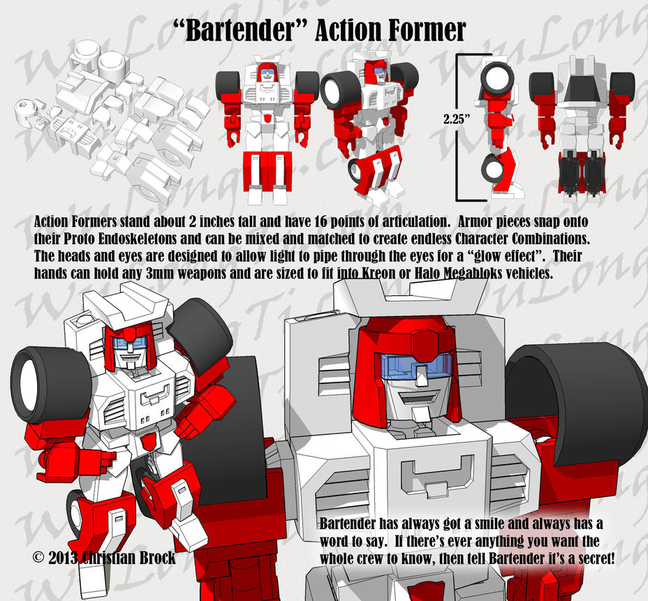 Action Formers - Bartender (MTMTE Swerve) by wulongti