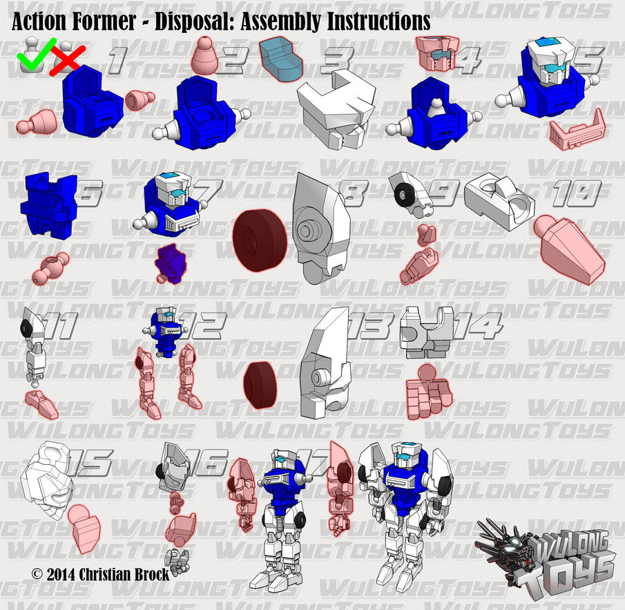 Action Former Disposal [V2] Assembly guide by wulongti