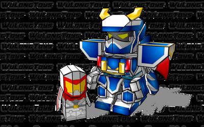 BattleRoller: UltraV and Hiro by wulongti