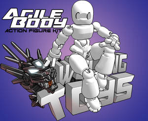 AgileBody:Base Action Figure Kit