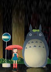 My Neighbor Totoro fan art