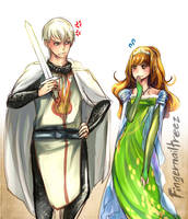 Princess Hermione and Her Royal Knight Draco 2