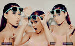 Ariana Grande Blend // Wallpaper .