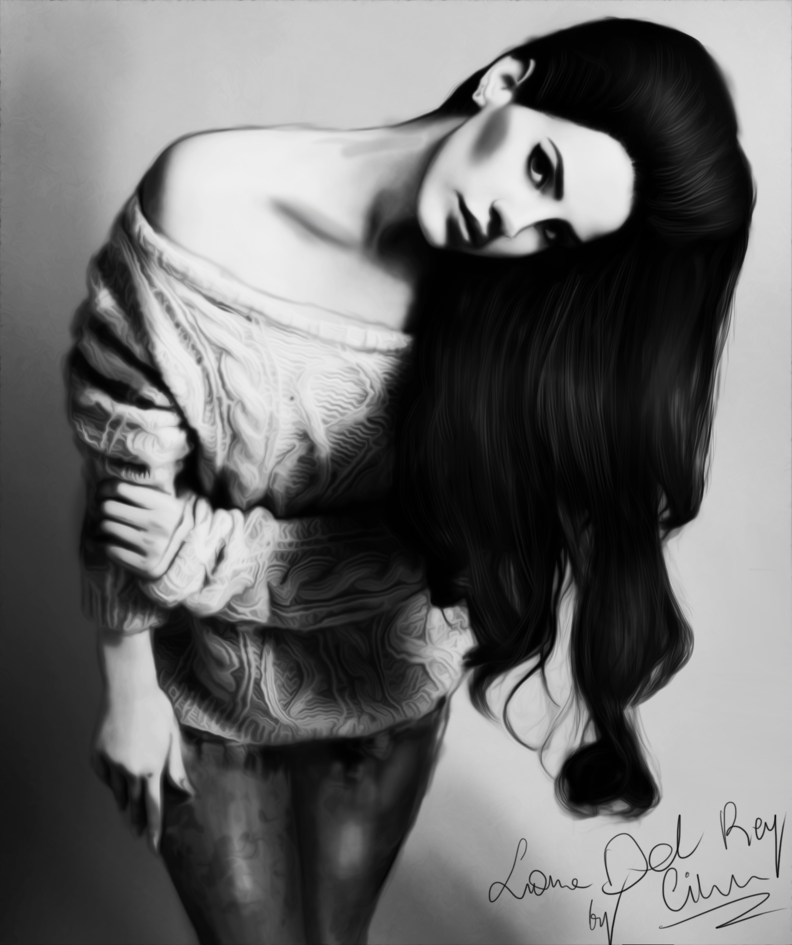 ~ Lana Del Rey by Nesttles on DeviantArt