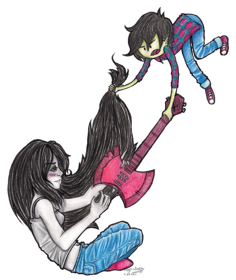 'Hey, Marceline, can I borrow it?' by Marcel-Art