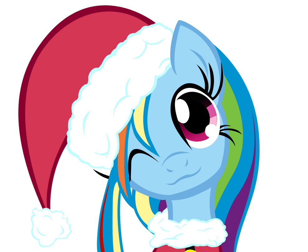Merry Little Rainbow Dash by Soohable on DeviantArt