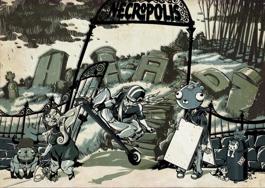 necropolis by vincent-grey