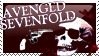 Avenged Sevenfold stamp2 -red by dark-dragon-wings