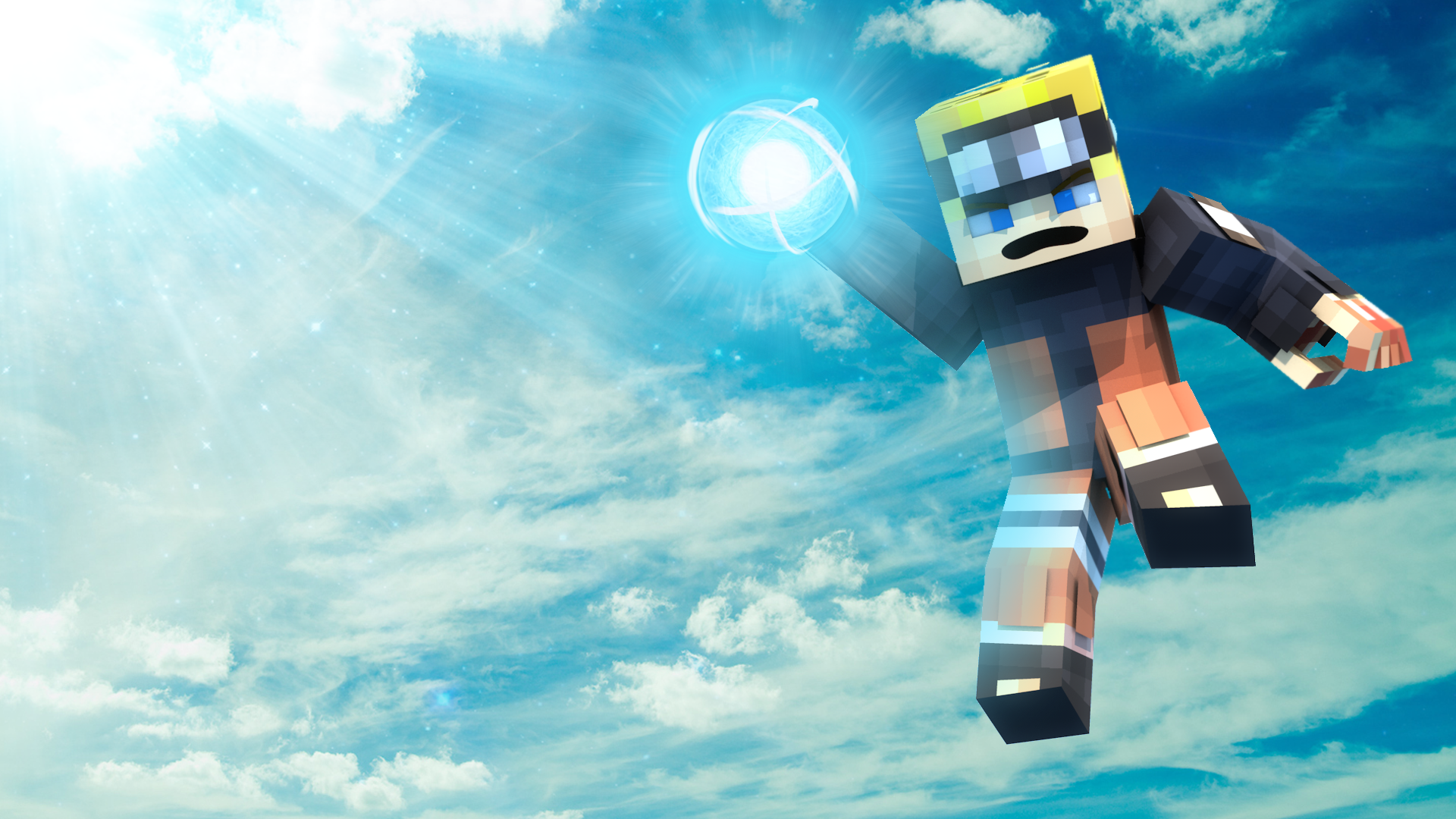 Naruto Minecraft Wallpaper By Ccltoe On Deviantart
