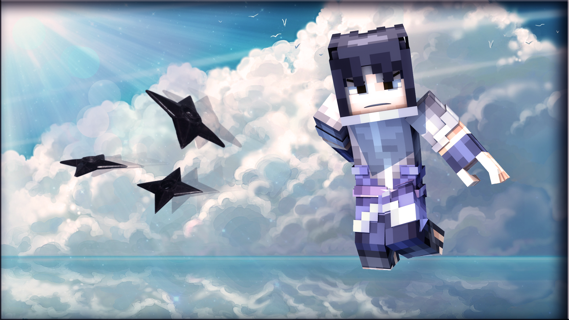 Sasuke (Minecraft Wallpaper) By Ccltoe On DeviantArt