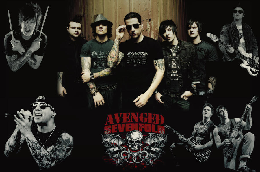 Avenged Sevenfold Wallpaper by chrismyhero on DeviantArt