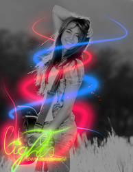 Miley Cyrus by acertainxromance