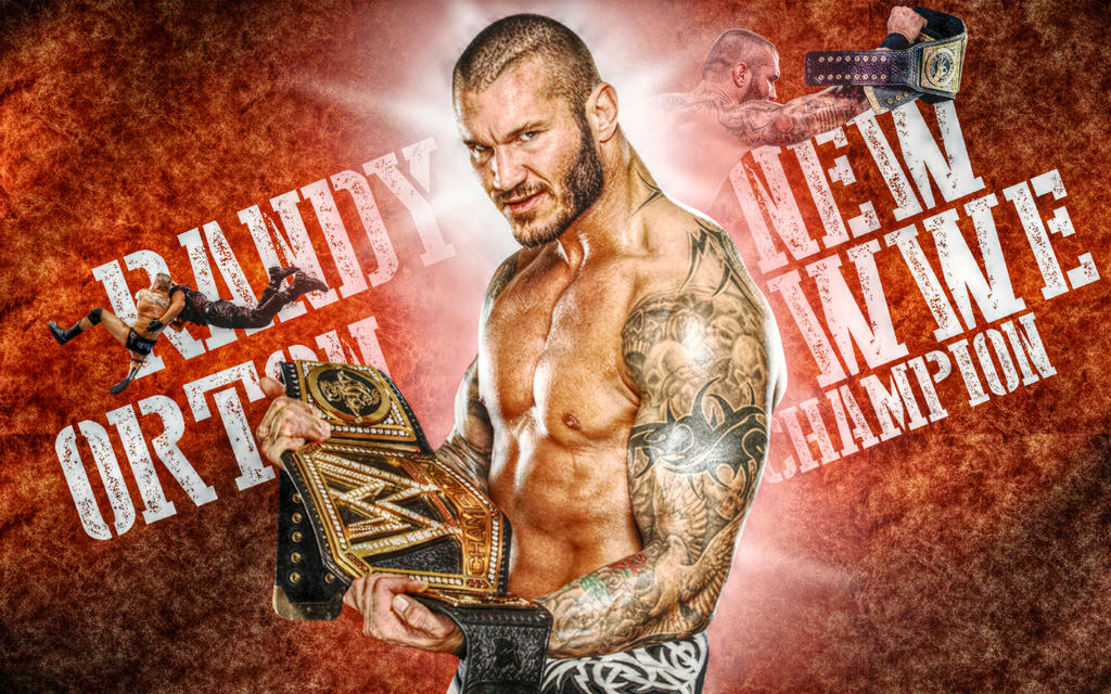 Randy Orton New WWE Champion By SameerDesigns