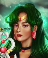 Sailor Pluto Fanart by TaroTram