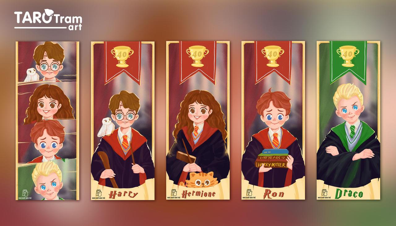 Harry Potter-Bookmark