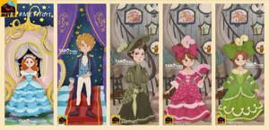 cinderella bookmark