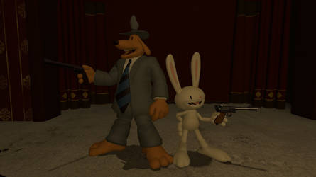 Favorite Characters #30 and #31 Sam and Max by milesprower690