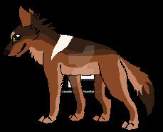 Wolfy by HoudedCanine