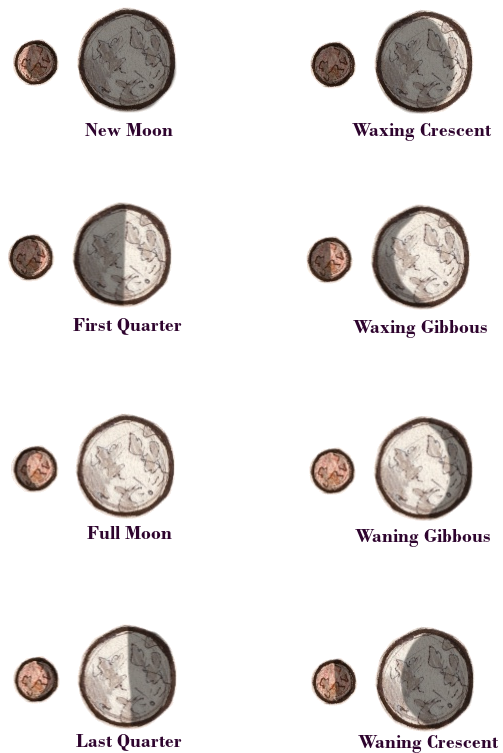 SA Moon Phases by Blubber-Bun