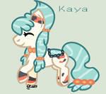 Kaya the Pond Pony (Gift) by TwilightPowerBases