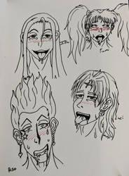 Ahegao Face Practice