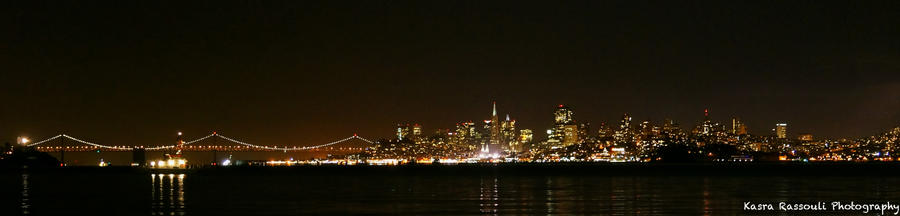 San Francisco Lights by KasraRassouli
